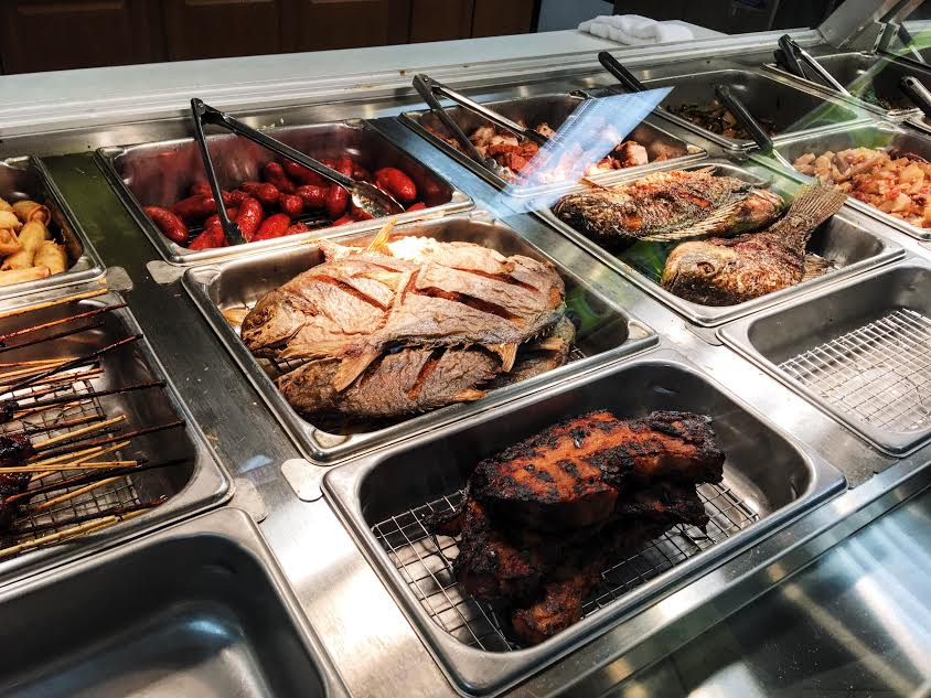 Pompano fish, tilapia, longanisa sausage and lechon are just few of the grab-and-go items you can get at Lucky Kitchen.