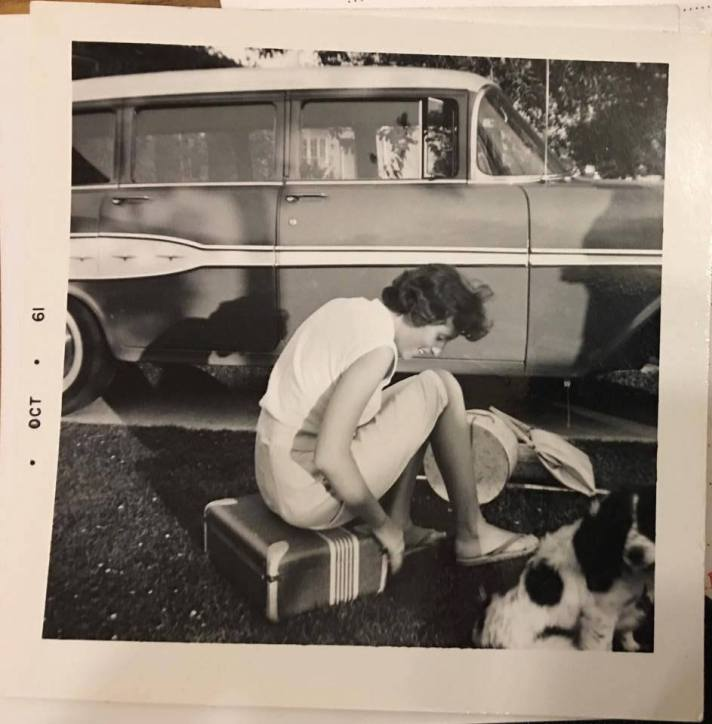 My grandma Sylvia Butcher in her home state of California.